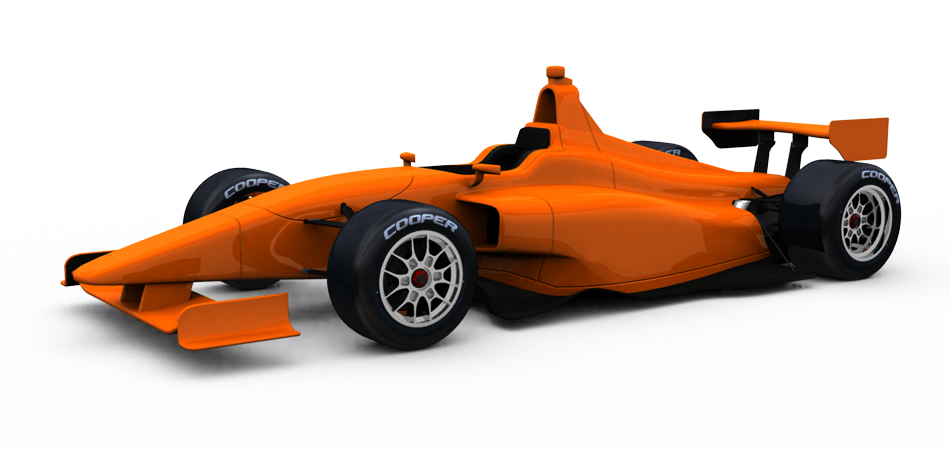 The 2015 Indy Lights car ready for action!