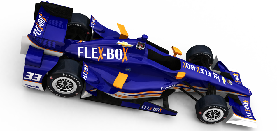 The 2015 Chevrolet IndyCar Aerokit