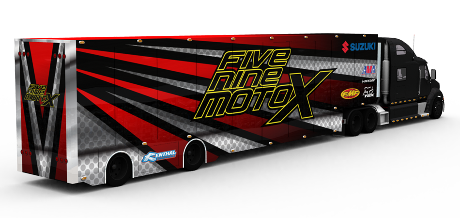 A proposed transporter render for 59MotoX.