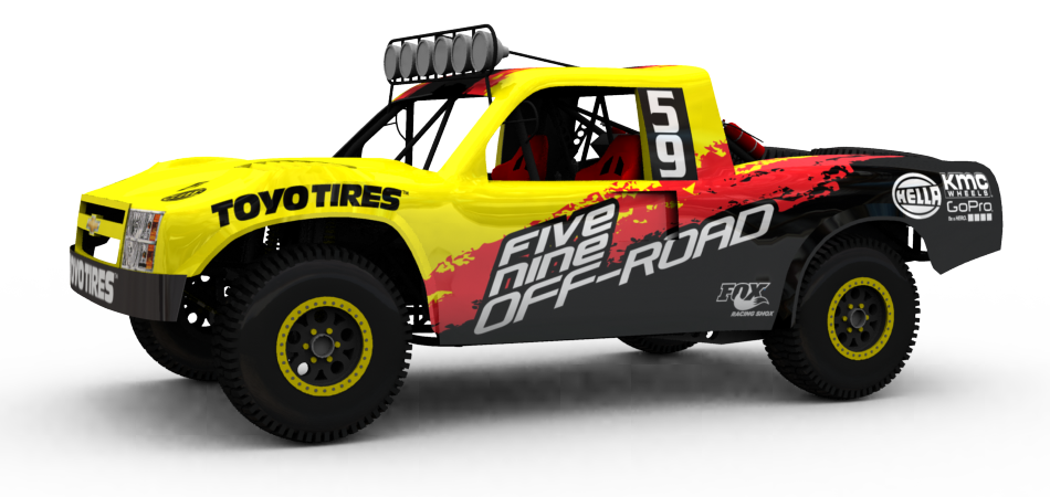 Five Nine Off-Road Trophy Truck